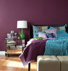 "Day Eighteen - Wine Sherwin Williams ""Blackberry"" SW 7577 #31daysofcolor #pappaspainting"