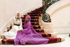 Muna AbuSulayman designs, hijab/long dress