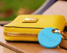 Bringrr is a Bluetooth device that fits into a car's cigarette lighter receptacle and scans for missing items the moment you enter your car.