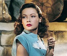 """Gene Tierney, """"Leave Her to Heaven"""" Old Hollywood Stars, Golden Age Of Hollywood, Vintage Hollywood, Hollywood Glamour, Hollywood Actresses, Classic Hollywood, Gene Tierney, Divas, Laura 1944"""