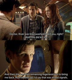 The Doctor & River