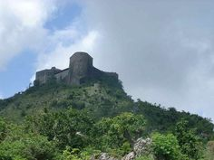 La Citadelle la Ferrière (Haiti). 'If ever a country settled on making a statement of intent on winning its independence, Haiti found it in the mighty Citadelle la Ferrière. A giant battleship of a fortress sitting atop a mountain crag, with a Versailles-like ruined palace at its base, it commands its landscape as a proud symbol of the world's first black republic.' http://www.lonelyplanet.com/haiti/sights/fortress/parc-national-historique
