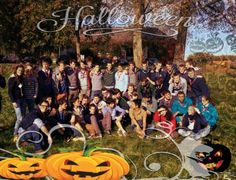 Les Staffs de la 35e Saint-Michel lors du TU 2013 #Happy #Halloween #Scouting