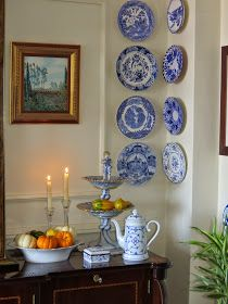 symphony in blue & white .. X ღɱɧღ  || The Dedicated House: Anything Blue Friday - Week 70