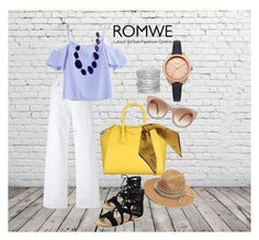 """""""#romwe #contest #street fashion #latest trend #lifestyle #style #mystyle #stylish #ازياء #موضه #لبس#عصريه _#اخر #صيحه #اونلاين# تسوق #ملابس"""" by ladypeacful on Polyvore featuring Givenchy, Vince, Saks Fifth Avenue, Mulberry, Kenneth Jay Lane and Avenue"""