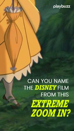 Can you name this Disney film from this extreme zoom in? Disney Quiz, Disney Film quiz, Movie Quiz, Playbuzz Quiz