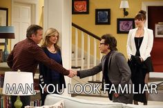 From Home Improvement to Last Man Standing....Tim Allen and the guy who played his son in the 1991 show reunite in this episode of Last Man Standing!!