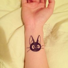 Most popular tags for this image include: cattoos, cats, studio ghibli, Tattoos and inked girls