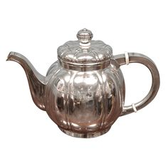 1stdibs - Hungarian Art Deco Sterling silver tea pot explore items from 1,700 global dealers at 1stdibs.com