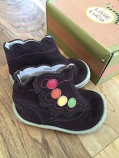 Livie and Luca Toddler Girls Paulo Brown Suede Boots, Size 4 - http://clothing.goshoppins.com/baby-toddler/livie-and-luca-toddler-girls-paulo-brown-suede-boots-size-4/
