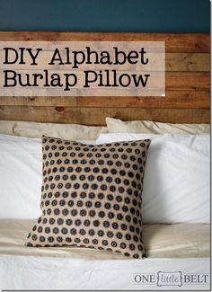 diy-alphabet-burlap-pillow