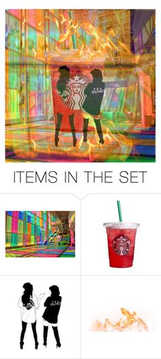 """""""While It Burns"""" by crochetmonsteradict ❤ liked on Polyvore featuring art"""
