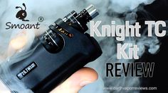 The Knight TC Kit by Smoant is a pocket mod and tank combination. The kit comes with an instruction manual, a battery card, blue screwdriver with O-rings, Japanese organic cotton, a micro USB charging cable and the Knight V1 with the Talos V1. #vaping #vape #vapelife #mods #reviews #ecigs #smoant