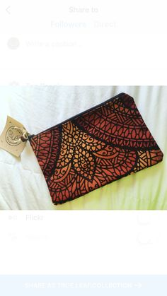 Handmade Bags, Clutch Bag, Leaves, Trending Outfits, Unique Jewelry, Etsy, Collection, Vintage, Fashion