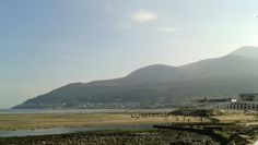 Glorious weather in Newcastle, County Down  - Northern Ireland.  #MourneMountains