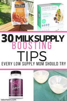 Are you struggling with low supply? Learn more about how to increase milk supply with these 30 tips. Pumping tips and more! Breastfeeding Bottles, Breastfeeding Positions, Breastfeeding And Pumping, Boost Milk Supply, Increase Milk Supply, Pregnancy Information, Chocolate Chip Oatmeal, Pregnancy Tips, Herbalism