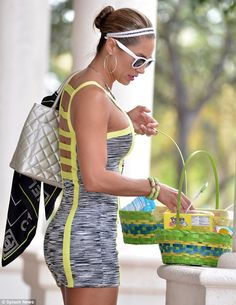 Jennifer Nicole Lee - you know she was working out after her Easter treats!