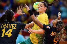 Blog Esportivo do Suíço:  Brasil erra muito e perde para a Espanha no handebol feminino