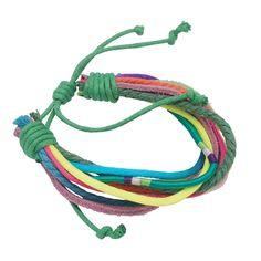 Armband Helena|Noi Home Fashion.  Diese Armbänder sind coole Accessoires, die sich aus unterschiedlichen Bändchen, Materialen und Farben zusammensetzen. Gebunden werden Sie mit einer Schlaufe, die verstellt werden kann.   Material: Baumwolle, Leder,  Maße: Durchmesser ca. 5,5 cm Variante: mintfarbener Verschluss #NOIhamburg #armband #fashion #girlstyle #schmuck #schanzenstyle