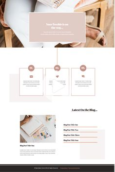 Sales Funnel Template Collection | Showit Template, Showit Website, Showit #webdesign #webtemplate Web Design Color, Site Web Design, Website Design Layout, Design Blog, Web Layout, Flat Design, Ios Design, Dashboard Design, Website Design Inspiration