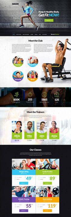17 Best Fitness and Gym Website Design inspiration