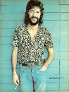 Eric Clapton- in the 70's