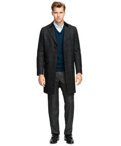 fdd436fbbaf Saxxon Wool Chesterfield Overcoat メンズワードローブの必需品