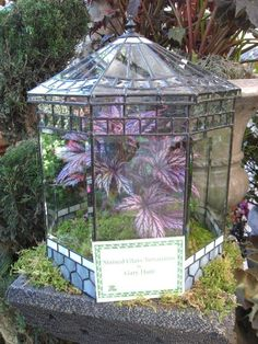 Stained Glass Terrarium by Gary Hunt