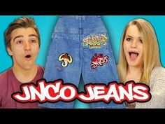 FineBros:Teens react to JNCO Jeans