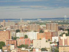 A view of both the Whitestone Bridge and the Throggs Neck Bridge ~ Bronx, New York - 6-26-12