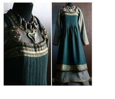 https://www.facebook.com/savelyeva.ekaterina.7 apron dress with pleated front