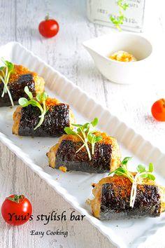 美味しすぎるダイエット食!冷めても美味♡鶏むね肉の磯辺照り焼き《簡単★節約★ヘルシー★お弁当》 | 作り置き&スピードおかず de おうちバル 〜yuu's stylish bar〜 Healthy Diet Recipes, Snack Recipes, Cooking Recipes, Asian Cooking, Easy Cooking, Ground Meat Recipes, Restaurant Dishes, Asian Recipes, Ethnic Recipes