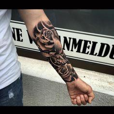 Rosas ( braço esquerdo)