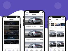 Car Dealership App Template in Swift for iOS - Mobile App Templates Mobile App Templates, Ios, Product Design, Programming, Behance, Gallery, Check, Merchandise Designs, Computer Programming