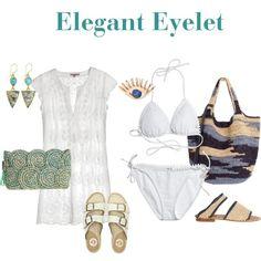 Elegant Eyelet by calypsostbarth on Polyvore