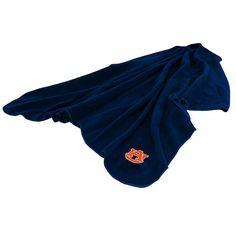 Logo Brand Auburn Tigers Fleece Throw Blanket, Multicolor