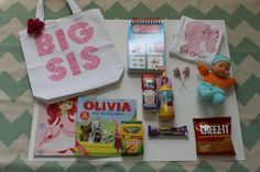 Create visitor bags for siblings - What to Pack for Your Hospital Birth - Photos