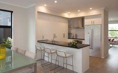 Add a breakfast bar to your G. Gardner Home. Decor, Corner Bathtub, Furniture, Table, Home, Bathtub, Bar, Home Decor