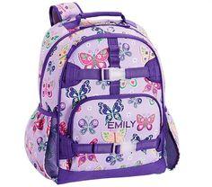 486ae24fcbf Mackenzie Lavender Butterfly Backpack · Pottery Barn KidsBack To  SchoolLavenderLunchBackpacksBackpack BagsEat ...
