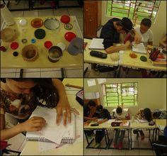 Calculando o (PI) atividade experimental com alunos da 81