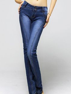 Korean style slim fit pencil Jeans Skinny Jeans Style, Cheap Jeans, Korean Style, Korean Fashion, Pencil, Slim, Fitness, Pants, Women