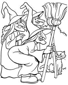 Costume Halloween, Halloween Scarecrow, Halloween Books, Halloween Skeletons, Halloween Coloring Pages Printable, Halloween Coloring Sheets, Cute Coloring Pages, Coloring Books, Printable Halloween
