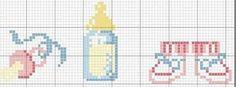 Resultado de imagem para graficos baby em ponto cruz