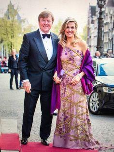 Feestelijk diner op het Koninklijk Paleis Amsterdam | ModekoninginMaxima.nl