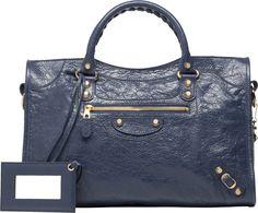 b98693771f Balenciaga Giant 12 Gold City Medium sized lambskin top handle bag with