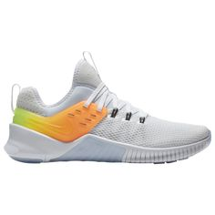 low priced 54024 4e360 Nike Men s Metcon Free Training Shoes (White Medium Green, Size - Men s  Training Shoes at Academy Sports