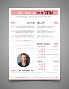The Best Resume Templates for 2016   2017 (Word) ~ StagePFE