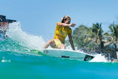 QUIKSILVER & ROXY  ROXY GIRL Stephanie Gilmore in the water at the 2015 Roxy Pro Gold Coast! Quiksilver & Roxy Pro Gold Coast Roxy Pro 2015 Gold Coast 2015 #RoxyPro wsl official WSL  WORLD SURF LEAGUE