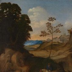 Giorgione   Il Tramonto (The Sunset)   NG6307   National Gallery, London