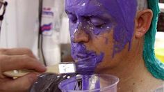 In this body casting demonstration, Body Double® silicone is used to make a full head mold Special Effects Makeup Artist, Body Cast, Face Mold, Model Face, Costume Makeup, Clay Crafts, Best Makeup Products, It Cast, How To Apply
